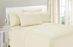 Ivory Satin Bed Sheet