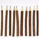 TORA Natural Neem Wood 7 Inch Pencils Set Of 5