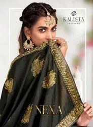 Kalista Nez Vichitra Silk Saree Catalog Collection