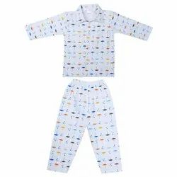 Sinker Night Suit For Unisex Baby