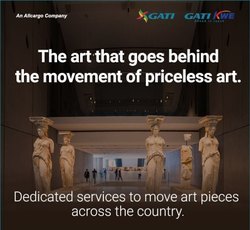 Across India Gati Art Express Transportation Services, Ship, Pan India