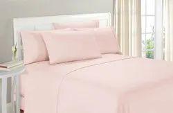 Pink Satin Bed Sheet