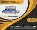 Continuous Band Sealer-Horizontal Model No.- VPS-CS-500-SS-HZ