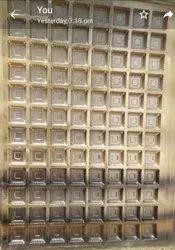PET 96 Cavity Chocolate Tray