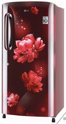 4 Star scarlet charm LG Direct Cool Refrigerator, Single Door, Model Name/Number: B221ASCY