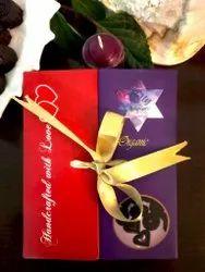 Heart Assorted Paper Dark Chocolate Box