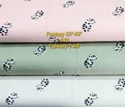Calwary Twill Fantasy Designer Printed Cotton Fabric