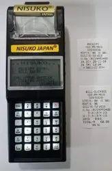 Handheld Parking Ticket Machine