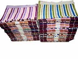 Cotton Multicolor Striped Kitchen Towel, Size: 20 X 35 Inch