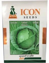 Hybrid Shalini Cabbage Seed, Packaging Size: 100 Gm