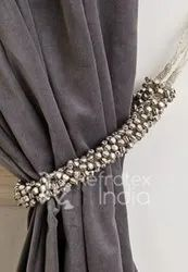 Beaded Curtain Tieback