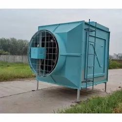 Flow-tech Equipment Fiberglass Reinforced Polyester Cross Flow Cooling Tower, Square