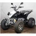 Black ATV Quad Motorbike