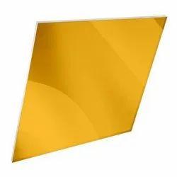 Golden Mirror Acrylic Sheets