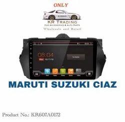 Wireless Maruti Suzuki Ciaz Android Music Player, Size: 45 X 110 Cm, Screen Size: 10 Inch