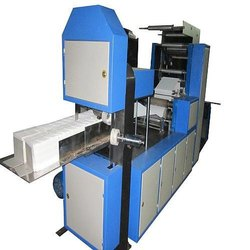 Automatic Napkin Making Machine With Design