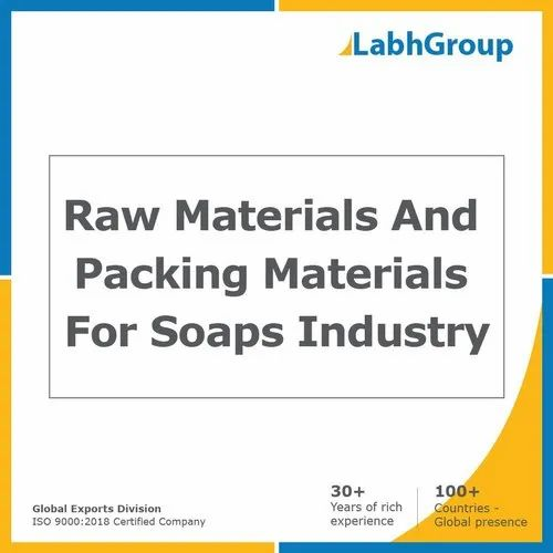 Raw Materials And Packing Materials For Soaps Industry