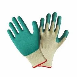 Cut Proof Yellow Green Gloves