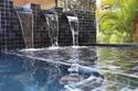 Abs Silver Swimming Pool Fountain