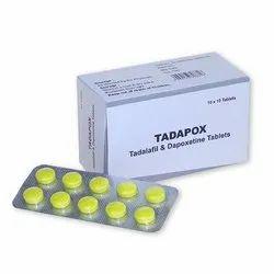 Tadapox Tadalafil And Dapoxetine Tablets
