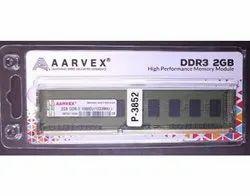 ADATA DDR3 Computer Memory, For Desktop, Memory Size: 2GB