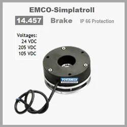 14.457 Type Emco Simplatroll Spring Applied Brake