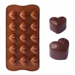 SILICONE HEART SHAPE CHOCOLATE MOLD