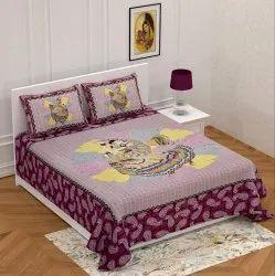 Modern Sanganeri Bed Sheet (Jalpari)