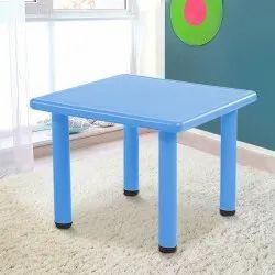 Blue Plastic Study Table