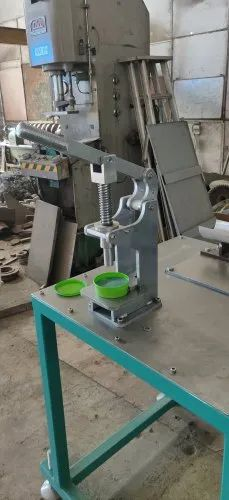 Hand Operated Soap Stamping Machine