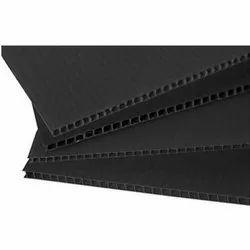 Black PP Corrugated Sheets