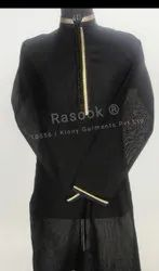 Black Thread Line Kurta Pajama