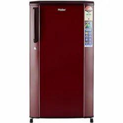 Red Haier 170 L 3 Star (2019) Direct Cool Single Door Refrigerator, Model Name/Number: HRD-1703SR-R