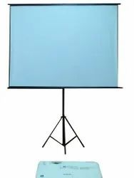 White Projector Screen rental service, For Office,School & College, Screen Size: 60
