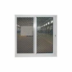 Polished Sliding Aluminium Window Net, For Home