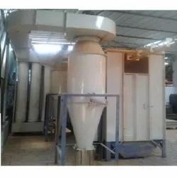 Diamond Engineering Powder Spray Booth With Filter Bag, Atmosphere, Automation Grade: Automatic