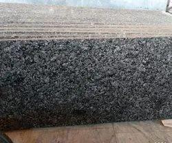 Polished Pan India Pebble Black Granite, Slab, Thickness: 15 mm