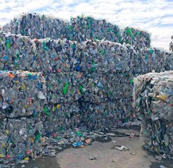 Waste Plastic Bottle Scraps