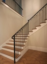 MS Indoor Bar Staircase Railings