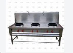 Gas Three Burner Range