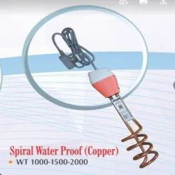 Spiral Water Proof Copper Immersion Rod