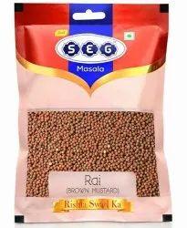 SEG Masala 100 Grams Brown Mustard Seeds