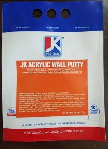 Jk Acrylic Wall Putty For Interior Rs 850 Packet Sri Anbu Enterprises Id 8308199730