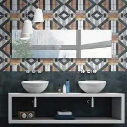 Linum Multicolor Designer Wall Tile, Thickness: 6 - 8 mm, Size: 12x18 Inch