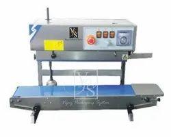 Continuous Band Sealer-Vertical Model No.-VPS-CS-650-SS-VT