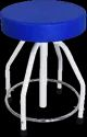 REVOLVING STOOL CUSHIONED TOP MS - 50-2800 GS