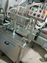 6 Head Bottle Filling Machine