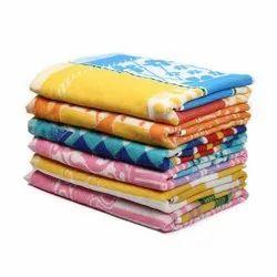 Samarth Textiles Printed Jacquard Cotton Bath Towel, Rectangle, Size: 30 X 60 Inch