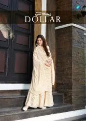 Your Choice Dollar Georgette Designer Salwar Suit Catalog
