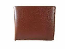 Brown Bi Fold Men Leather Wallet, Card Slots: 8